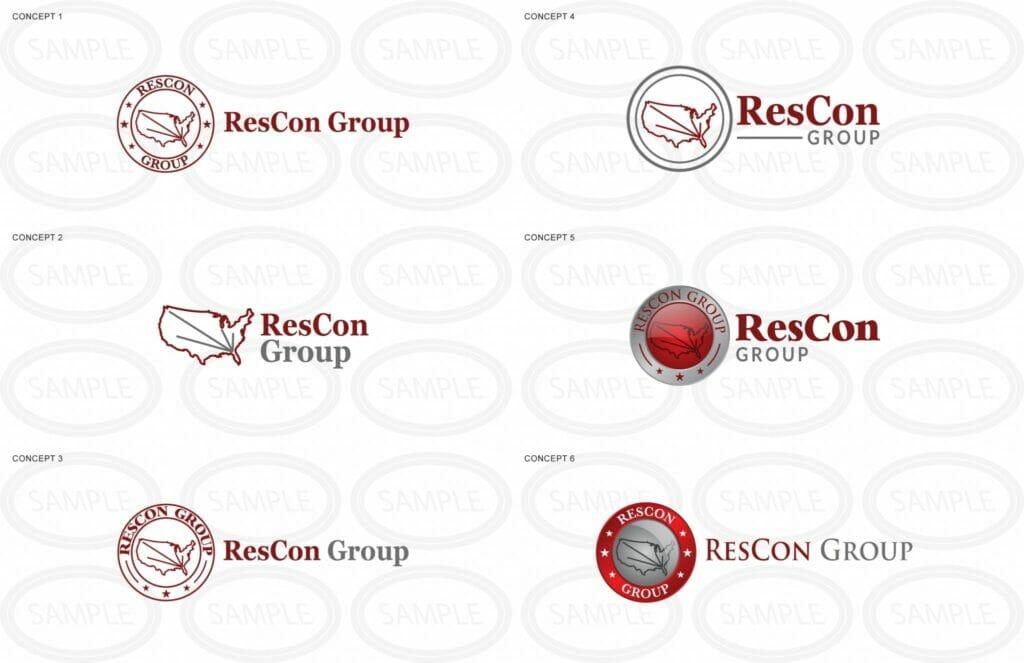 ResCon Group Logo Concepts