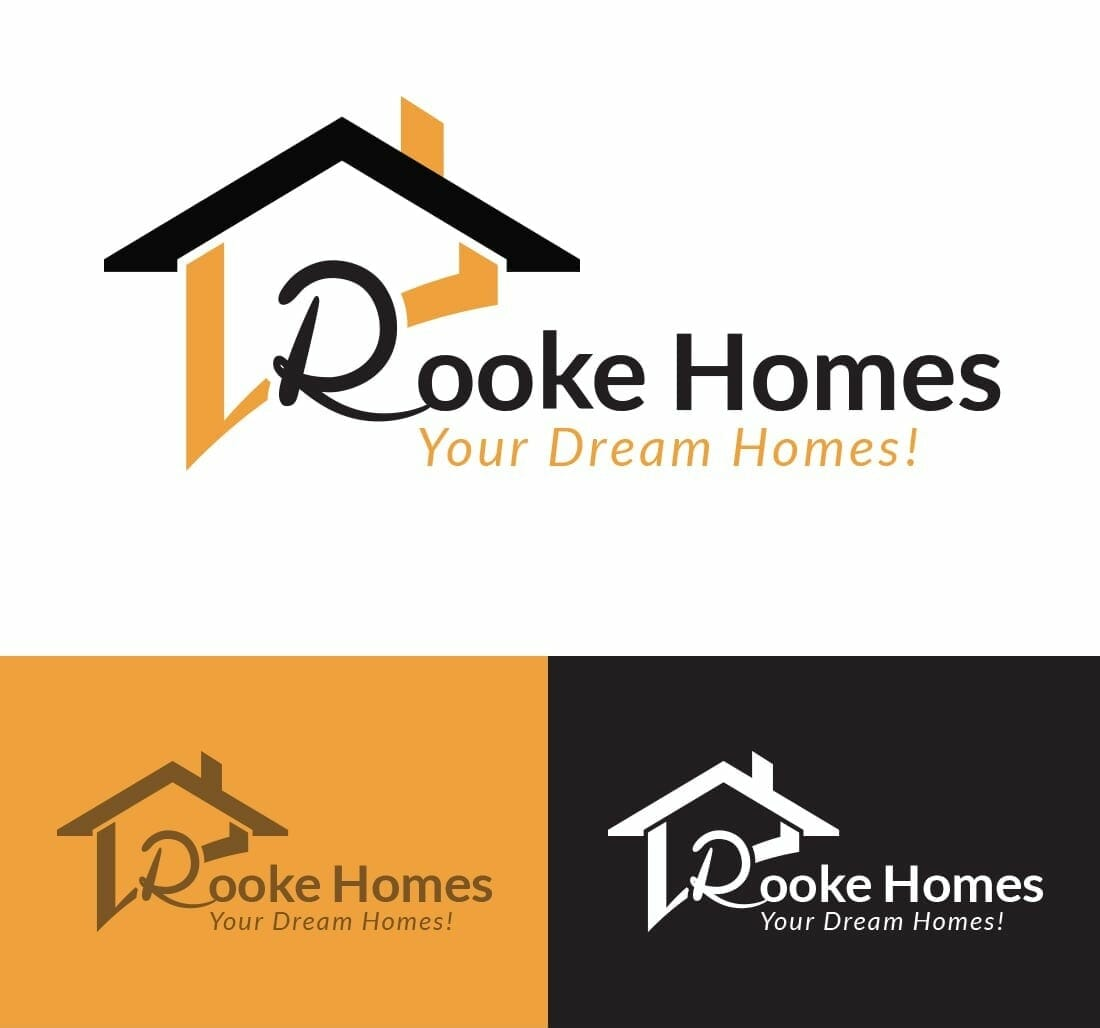 Rooke Homes Logo Concepts