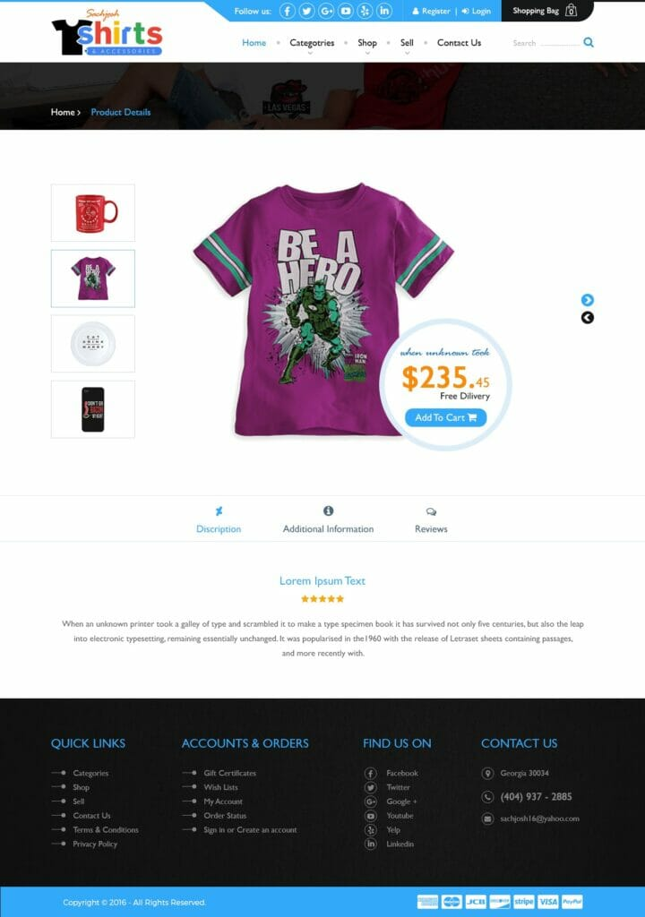 Sachjosh Product Details