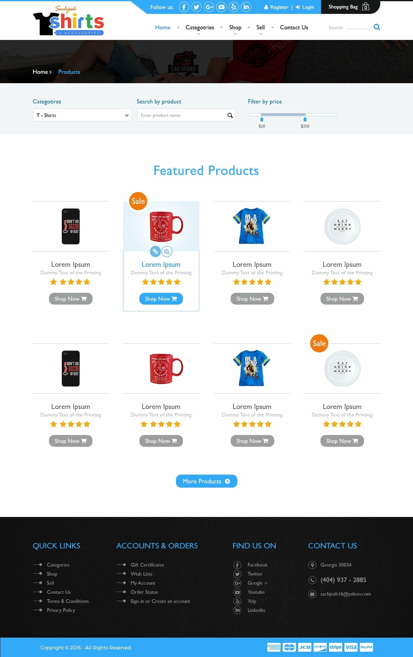 Sachjosh Product Listings