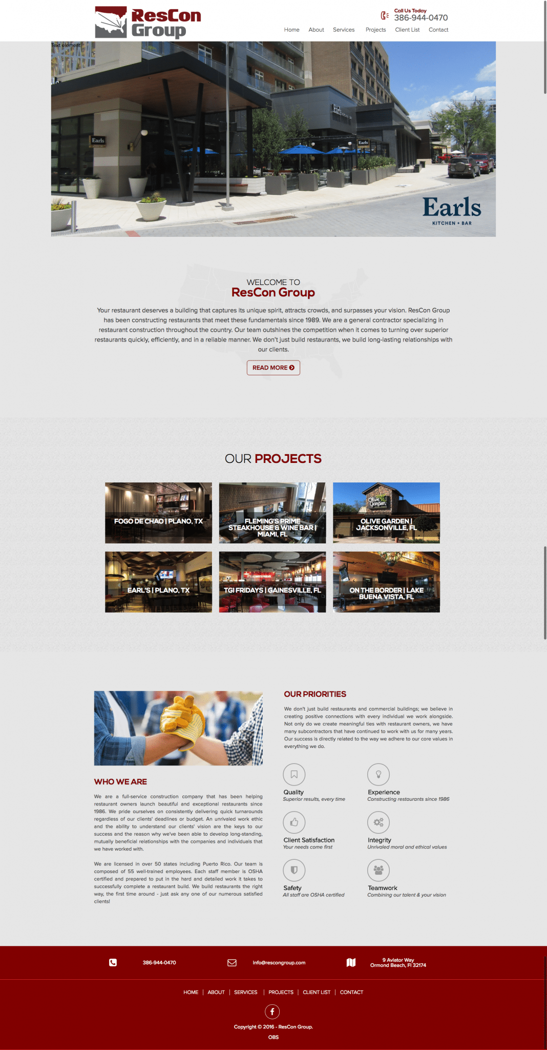 ResCon Group Homepage